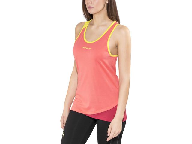 La Sportiva Dihedral - Haut sans manches Femme - orange